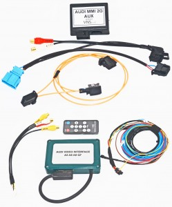 Audi MMI 2G HIGH AUDIO / VIDEO INPUT SET